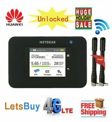 Unlocked Netgear Aircard 790s (AC790S) 300Mbps Cat6 4G Mobile Hotspot Wifi Route