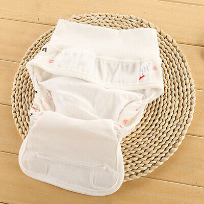 Printing Diapers Adjustable Washable Pants Baby Nappy Reusable Cloth Infant Z