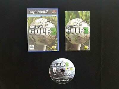 Outlaw Golf 2 - Sony Playstation 2 PS2 Game - VGC - Free Post