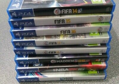 Bundle/Joblot of PS4 8 Sport Games - Preowned - Fast Dispatch