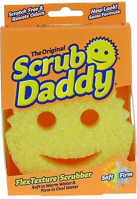 Scrub Daddy Scrubbing Sponge, Original (Yellow), PACK OF 6
