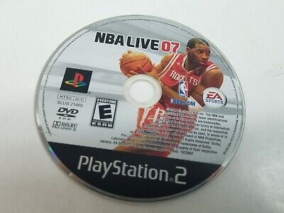 NBA Live 07 (Sony PlayStation 2, 2006)*****CD ONLY!******Fast Shipping!