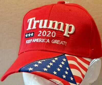 New Trump- 2020 Hat- Red- Keep America Great!