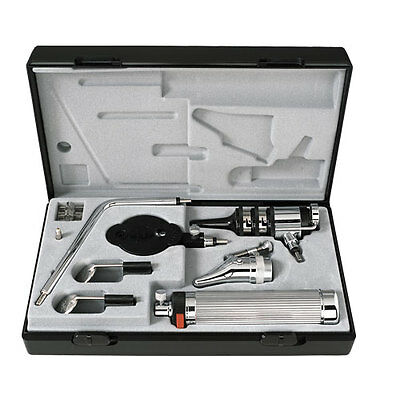 Riester Pocket Otoscope/ Ophthalmoscope Set 2.7V Vacuum Bulb In Case #2050