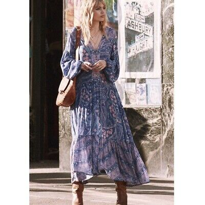 Spell and the Gypsy City Lights Gown NWT L