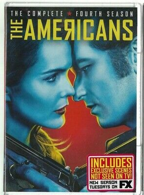 Sealed NEW DVD - TV Series -   THE AMERICANS Season 4