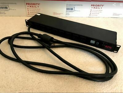 APC AP7901 Switched Rack Power Distribution Unit 8 Outlets OBO * FREE SHIPPING *