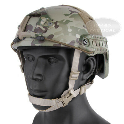 Emerson Tactical Children Women Small Adjustable Helmet With NVG Mount Side Rail