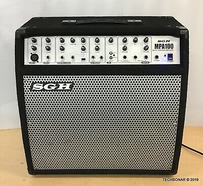 SGH MPA-100 Multi-Purpose Amplifier Speaker System , Fully Tested