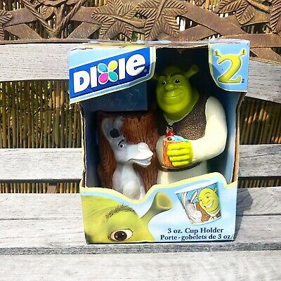 '04 Shrek 2 (& Donkey) TV Movie Promo Dixie cup Holder - In Original Packaging