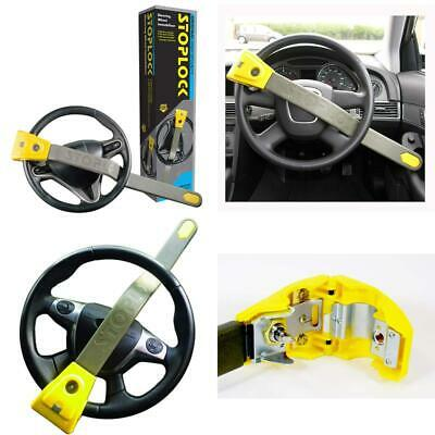 Stoplock 'Original' - Steering Wheel Lock For Cars - Secure Anti-Theft Device W/