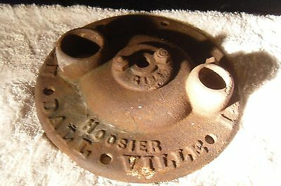 Vtg Flint & Walling Water Well Pump Base Plate Hoosier Windmill Tower Cast Iron