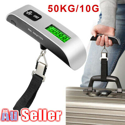 XRP Weight Hanging Travel Electronic Luggage Portable 50kg/10g LCD Digital Scale