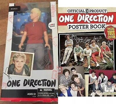 One Direction Doll Boxed Nial 1D New Collector gift sealed + Poster Book 2013