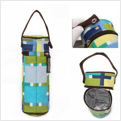 Baby Feeding Thermal Insulate Bottle Bag Milk Cup Warmer Cover Children Cushion