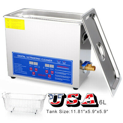 Homeuse Stainless Steel Industry Heated Ultrasonic Cleaner Heater Timer Device