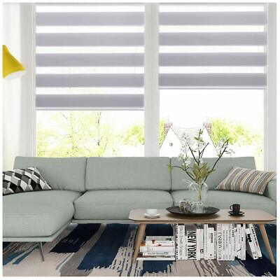 95/% BLACK OUT Roller Zebra shade Home Window Blinds Custom-Order MADE TO MEASURE