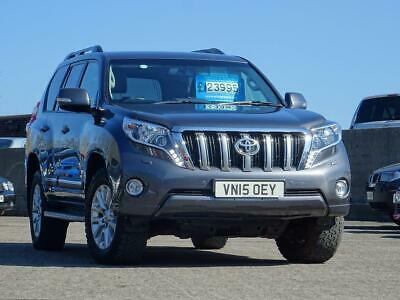 2015 TOYOTA LAND Cruiser 3 0 D-4D Icon 5dr (7 Seats