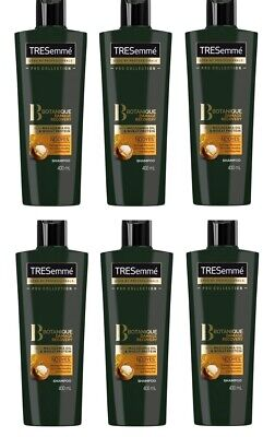 Tresemme Pro Collection Botanique Damage Recovery Macadamia Oil Shampoo 6x 400ml