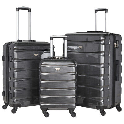 4 Wheel Hard Shell Cabin Suitcase Hand Luggage Bags & Sets Lightweight Ryanair