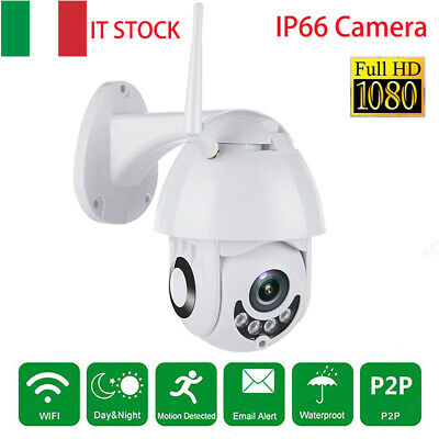 2Mp Telecamera Ptz Zoom 1080P Hd Esterna Ip Camera Motorizzata Ir Wifi Webcam It