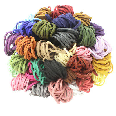 10 yd 3mm Wholesale Suede Leather String Necklace Cord Jewelry Making DIY Thread