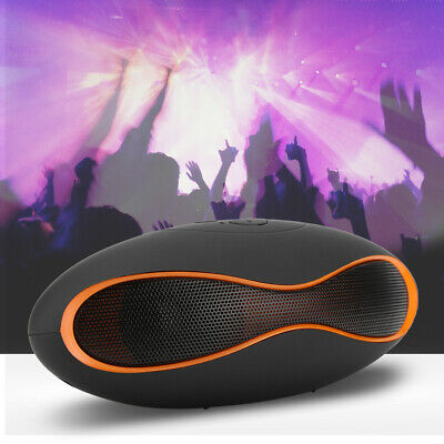 Wireless BT Portable Stereo Speaker Outdoor Bass Mini Music Player Handsfree USB