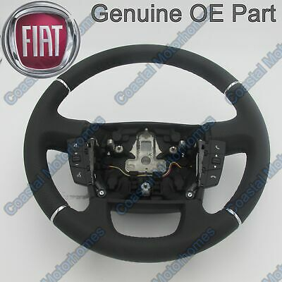Fiat Ducato Peugeot Boxer Citroen Relay Leather Steering Wheel Controls 14-On OE