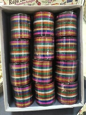Costume Fashion metal bangle indian bollywood 12 Sets chudi chudiya kids Size
