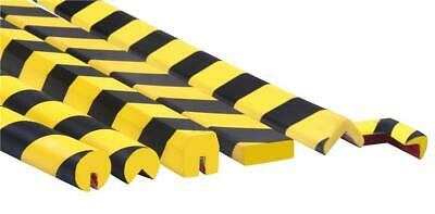 Warehouse Pallet Racking Protector with Hi-Vis Yellow/ Black Stripes