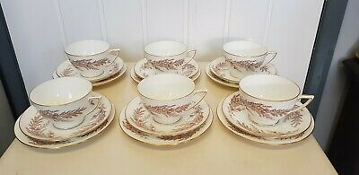 Minton Bedford Cup And Saucer -Plate Trio Excellent Condition X6