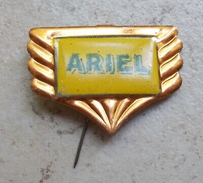 ARIEL badge vintage pins motorcycles UK vélo cycles moto ancien 1960s