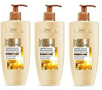 L'Oreal Body Expert Extra-Ordinary Oil Oil Infused Body Lotion Dry Skin 3x 250ml