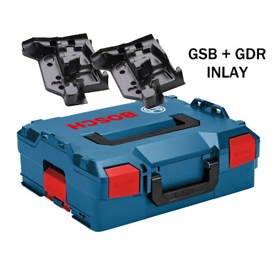 Bosch L Boxx 136 Stackable Power Tool Case TWIN GSB GDR ROBUST INCLUDES INLAY