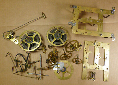 Antique SESSIONS Clock Movement Parts -BEST OFFER-