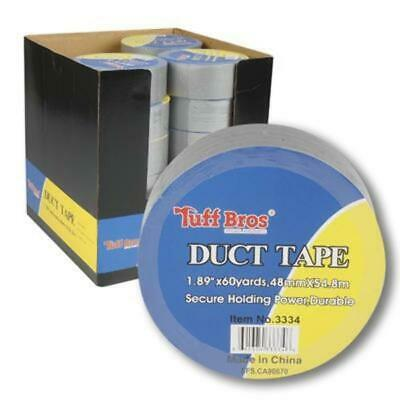 """1.89""""x60yd Silver Duct Tape - CASE OF 24"""