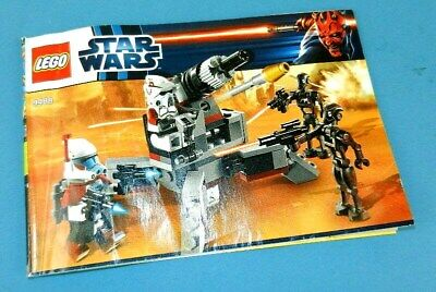 Lego Star Wars 9488 Elite Clone Trooper INSTRUCTION BOOKLET MANUAL BOOK ONLY