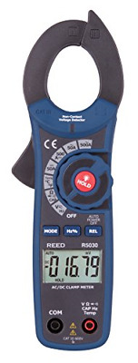 REED Instruments R5030 True RMS AC/DC Clamp Meter with Temperature and Voltage