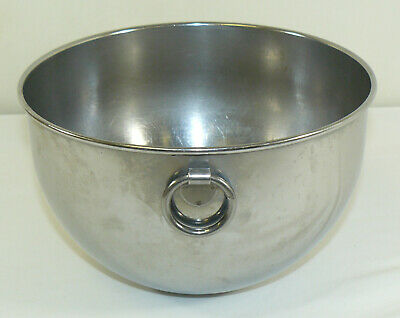 VTG Revere Ware Stainless Steel 3 QT Mixing Bowl W/ O Ring Double Circle Logo