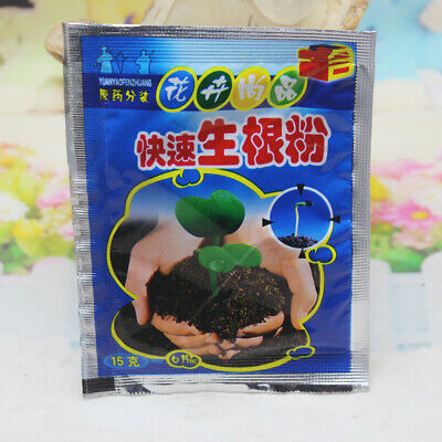 5Pcs Fast Rooting Powder Hormone Growing Root Seedling Germination Cutting Plant