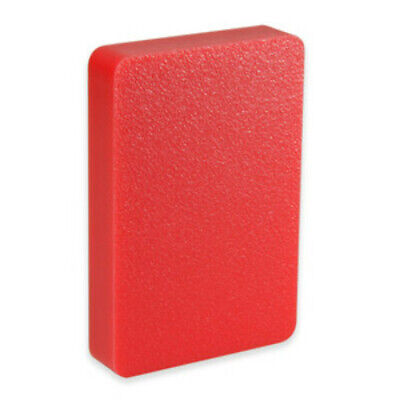 """UHMW Red Sheet .5"""" CNC Mill Stock Plastic Cut to Size"""