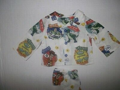 "Toy story 4  doll pajamas fits 18"" American Girl Dolls handmade"