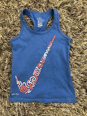 Nike Dri-Fit Girls Youth Active Racerback Tank Top Size XS