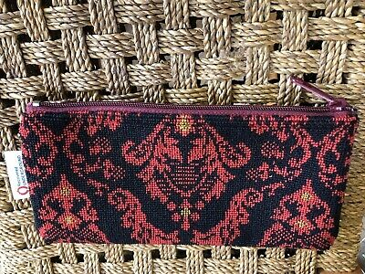 Great Western railway Moquette Pencil Case   (GWR) Red Snapdragon