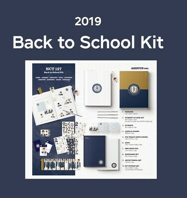 NCT 127 2019 NCT 127 Back to School Kit - Pre-Order Nct127 Photo Pouch etc.