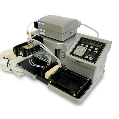 BioTek MultiFlo Multi Mode Microplate Reagent Dispenser Liquid Handler w/ Pump