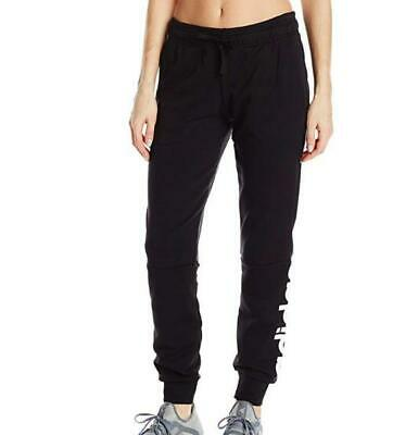 Adidas Womens Essentials Linear Cuffed Pants Black/White S97154
