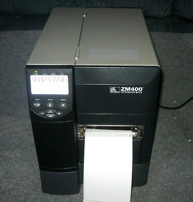 ZEBRA ZM400 THERMAL Label Printer 300DPI 4