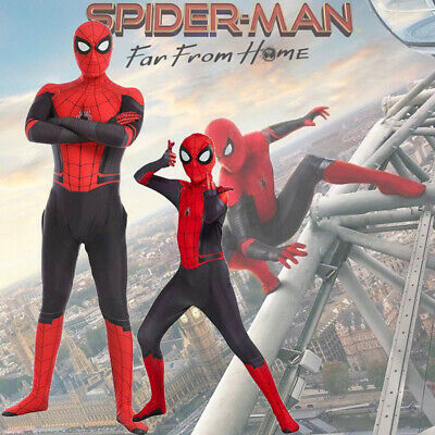 Spider-Man Far From Home Amazing Costume cosplay costume Enfants Adulte Unisex