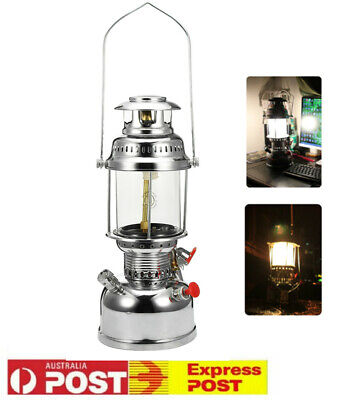 500W Golden Globe Pressure Kerosene Oil Lantern Lamp Lighting Camping Outdoor AU